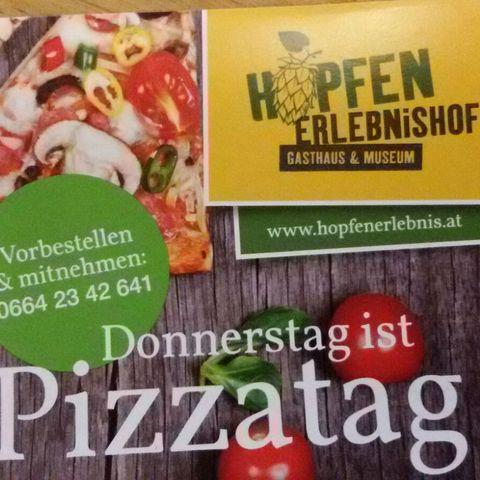 Pizza Hopfenstub'n